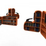 Seating System With Book Shelf by Anoop Joseph