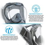 Seaview 180 SV2 Snorkeling Mask by Wildhorn Outfitters