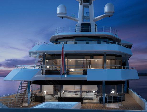 SeaXplorer Yacht Takes You to Extreme Destinations Without Compromising Your Superyacht Lifestyle