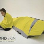 Second Skin Emergency Protection Blanket Offers Essential Needs for Earthquake Survivors