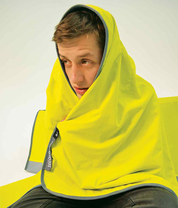 Second Skin Emergency Protection Blanket by Nick Dephoff