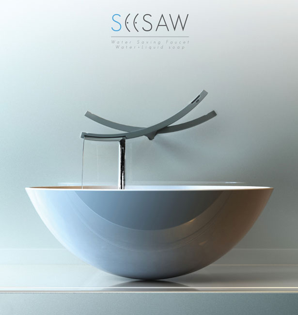 Seesaw Water Saving Faucet by Chanhee Han