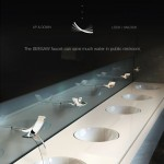 Seesaw Water Saving Faucet Can Reduce Water Waste in Public Restroom