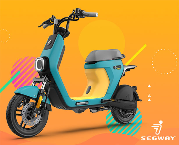 Segway C80 - Move Smarter with Moped Style Electric Bike