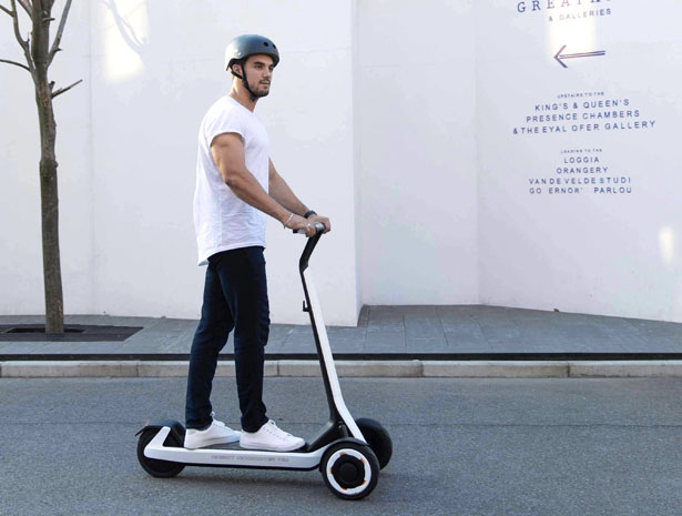 Segway x Ninebot Releases KickScooter T60 Semi Automatic Shared-Scooter