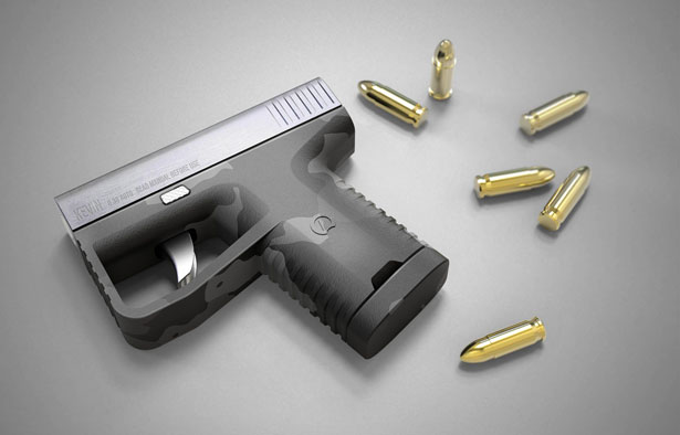 Self-Defence Handgun by Prokop Strnka