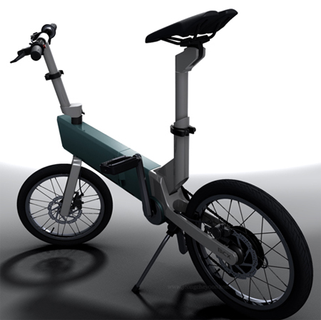 Self-Rechargeable Folding Bike BiCX Makes Riding Fun