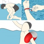 Self Rescue Bracelet : Simply Pull The Bracelet to Turn It Into A Floating Device
