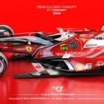 Semi Closed Concept Canopy for F1 Car by Matus Prochaczka