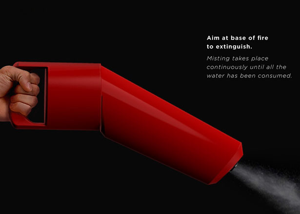 Senik Fire Extinguisher Redesign by Sailee Adhao