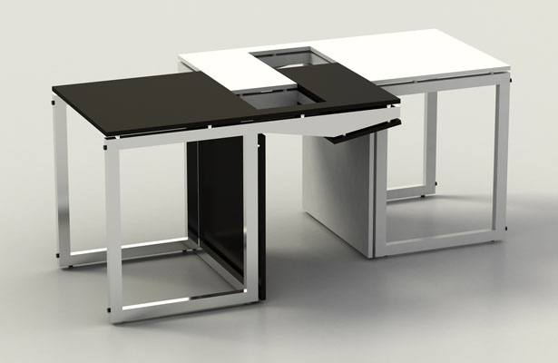 Sensei Table Chair by Claudio Sibille