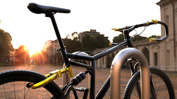 Senza Bike Lock System For Quick and Complete Security of Your Bike