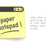 E-Note, Flexible Electronic Paper Concept by Sequoia Studio