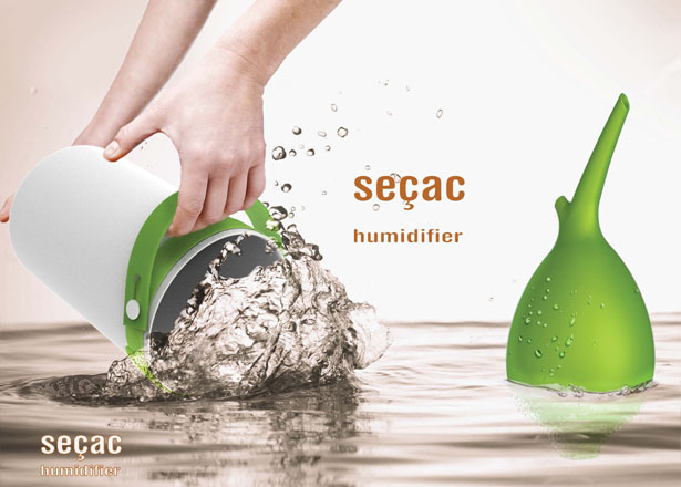 Sessac Humidifier by Wonsang Lee