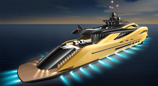 Settantanove Concept Superyacht by Matthew Bacon