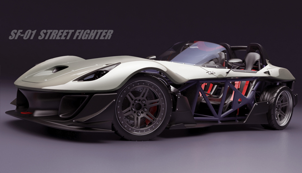 Toyota Sfr Release Date >> SF-01 Street Fighter Sports Car Platform for Local Motors - Tuvie
