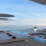 Shaddai Mega Yacht Features High-Balcony to Take You From The Sea to The Sky