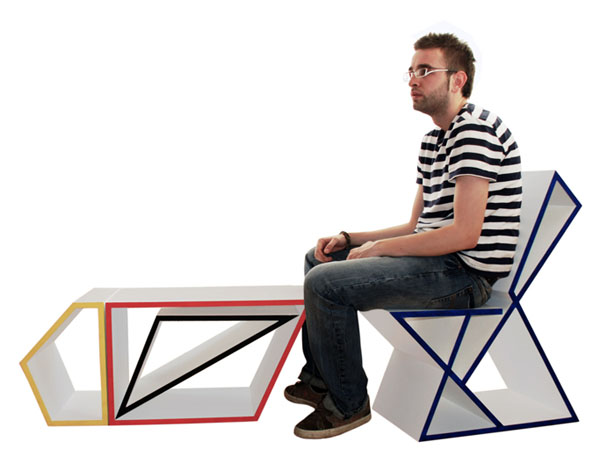 Shape and Function Modular Furniture by Sanjin Halilovic