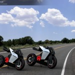 Futuristic Shavit Electric Superbike Features Adjustable Riding Position System