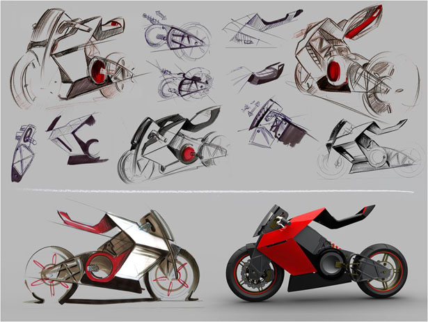 Shavit Electric Superbike by Eyal Melnick