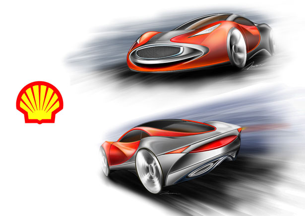 SHELL Pre-Alternative Fuel Car by Imran Othman