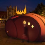 Shelter byGG : A Sculptural Object and A Living Space in Public Place
