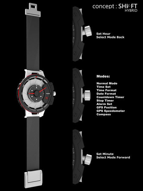 Shift Hybrid Watch