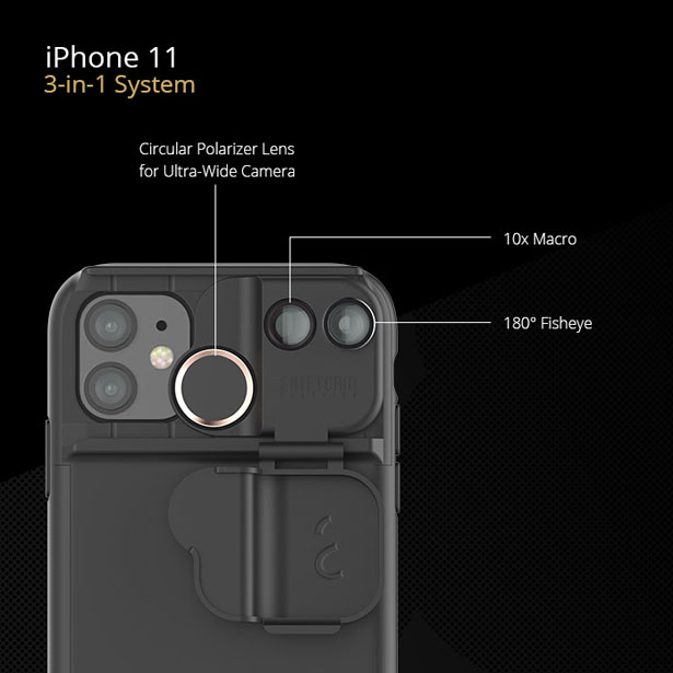 Shiftcam Multi-Lens Case Specially Designed for iPhone 11