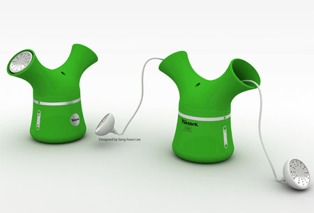 shrek mp3 player