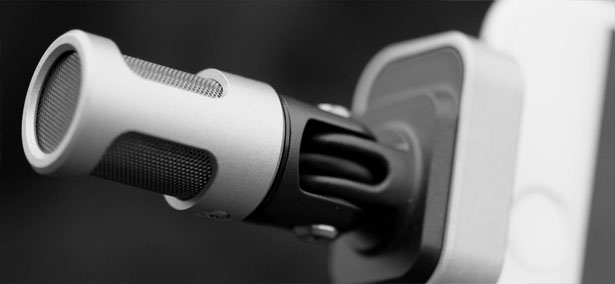 Shure MV88 Digital Stereo Condenser Microphone Helps You Record Video with Crystal Clear Sound