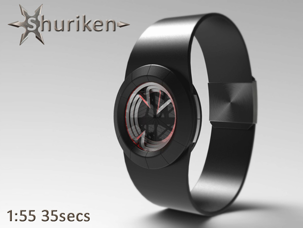 Shuriken Watch by Peter Fletcher