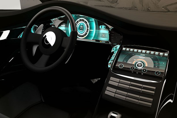 Sidewinder Dune Buggy Features Open, Android-Based Platform in The Dashboard