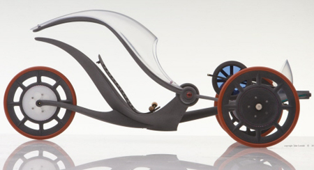Silhouette Is An Ingenious Transportation Vehicle Designed For An Exquisite Trip To The Office