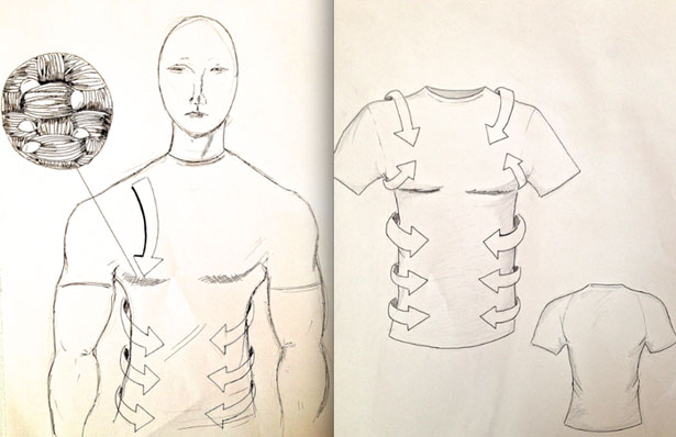 Silic T-Shirt by Aamir Patel
