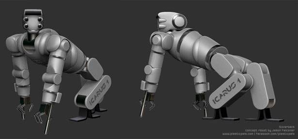 Silverback Robot by Jason Falconer
