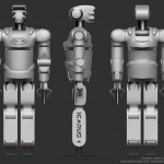 Silverback Robot : An Ape-Like Robot by Jason Falconer