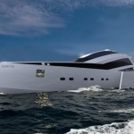 Sirena Trimaran Yacht Features Larger Interior Space, Lower Drag Coefficient and Lower Emissions