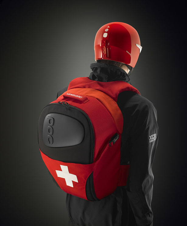 Skadi ABS Avalanche Backpack for Ski Patrollers