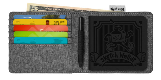 Sketch Wallet - a Perfect Wallet for Designers