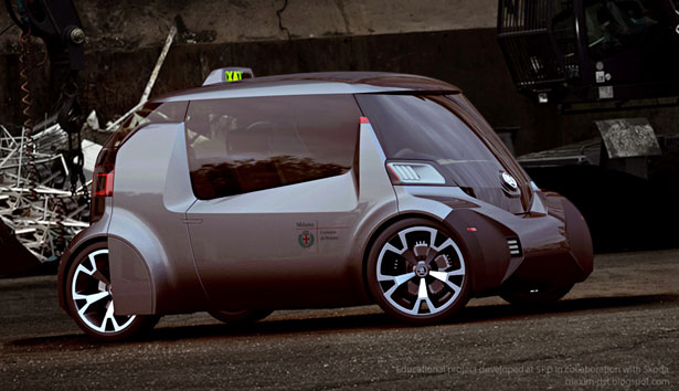 Skoda Ago EXPO Taxi by Maxim Shershnev and Tigran Lalayan