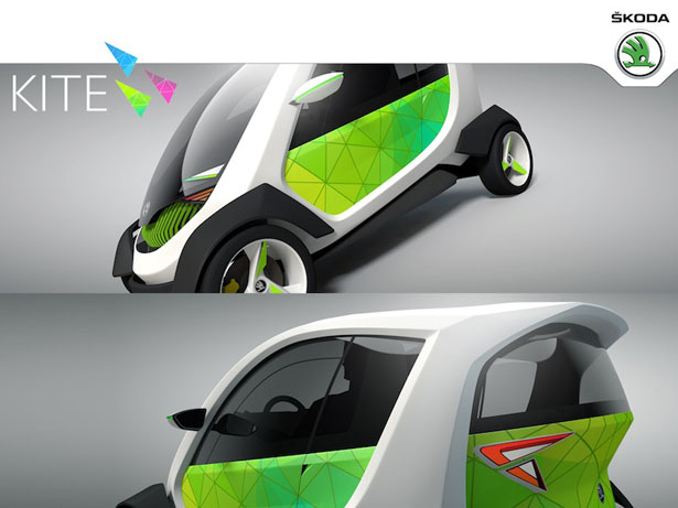 Skoda Kite Electric Car