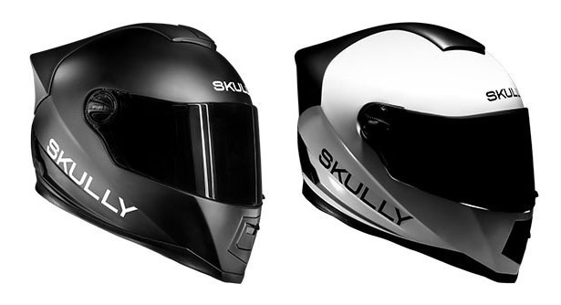 Skully AR-1 : Vertically Integrated Smart HUD Motorcycle Helmet