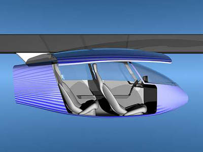 future skytran with maglev system
