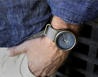 Stylish SLD Timepieces N-CORE 001 Quartz Watch Features Minimalist Design with Simple Yet Elegant Watch Face