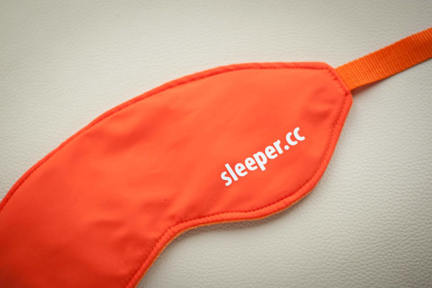 Sleeper - Sleeping Mask Gets Makeover for More Comfort by Lana Dey