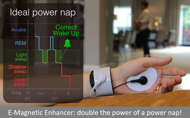 Sleepman: Sleep Enhancer and Energy Booster Device