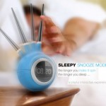Sleepy Alarm Clock Offers Playful And Interactive Experience Of Waking Up