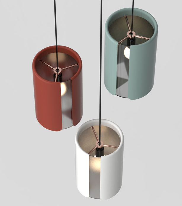 Sleeve Pendant Lamp Series by Neetica Pande