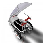 Slide Future Smart Car for Urban Space