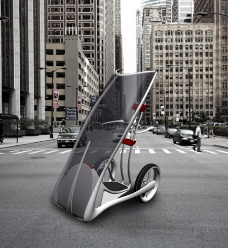 slide smart car for urban space